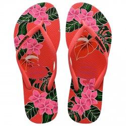 Chancletas Havaianas Slim Floral Mujer