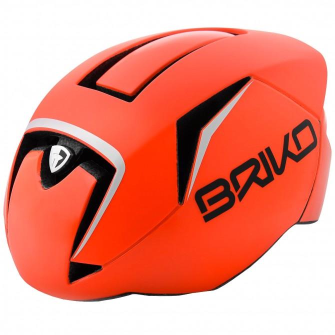 Casco ciclismo Briko Gass arancione BRIKO Caschi