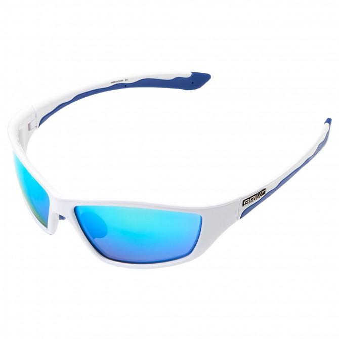 Occhiali da sole Briko Action bianco-blu BRIKO Occhiali ciclismo
