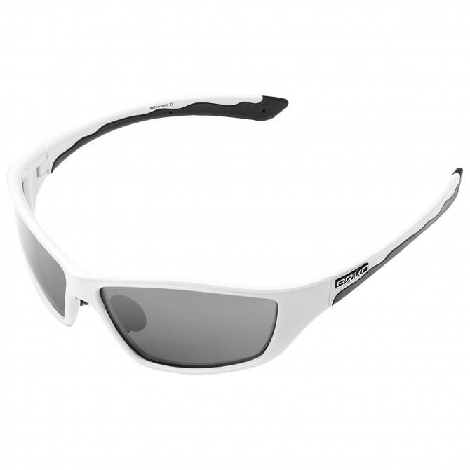 Occhiali da sole Briko Action bianco-nero BRIKO Occhiali ciclismo