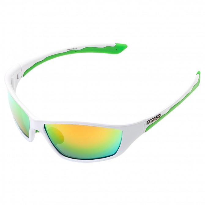 Occhiali da sole Briko Action bianco-verde BRIKO Occhiali ciclismo