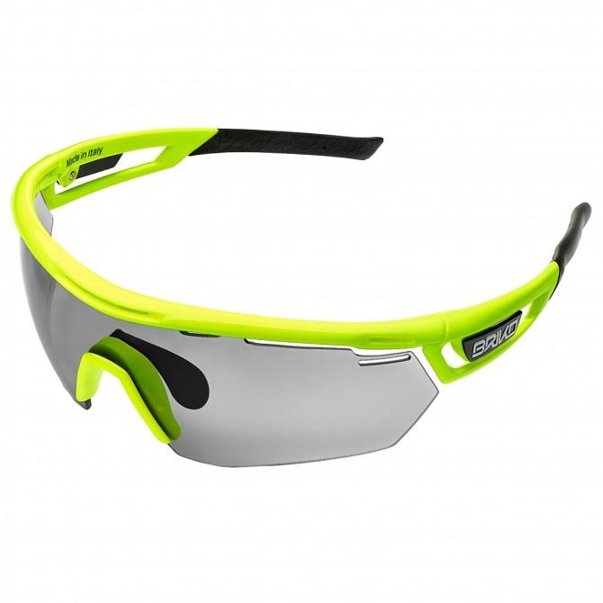 Bike sunglasses Briko Cyclope Photo yellow