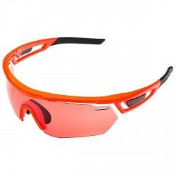 Occhiali ciclismo Briko Cyclope Photo arancione