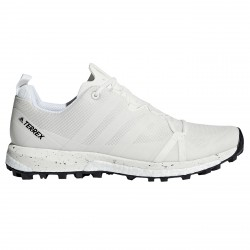 Zapatos trail running Adidas Terrex Agravic Hombre blanco