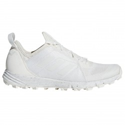 Zapatos trail running Adidas Terrex Agravic Speed Mujer blanco