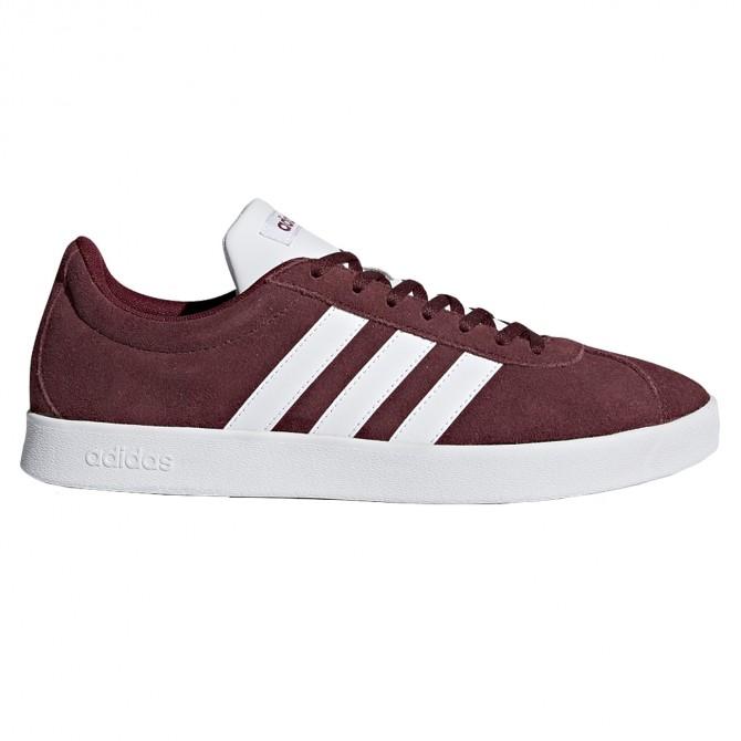 Sneakers Adidas VL Court 2.0 Homme bordeaux