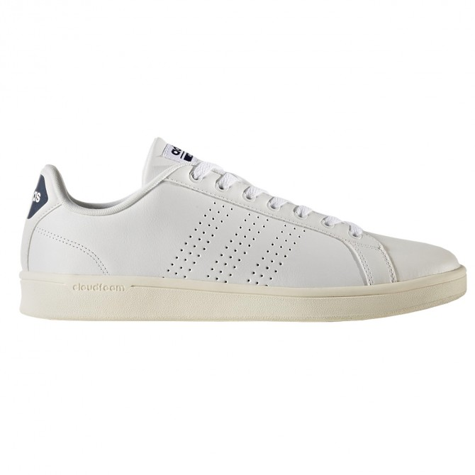 scarpe adidas cloudfoam advantage clean bianco