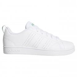 Sneakers Adidas Adv Advantage Clean Bambino bianco-verde