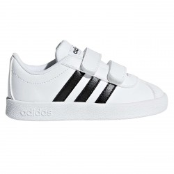Sneakers Adidas VL Court Baby blanc-noir