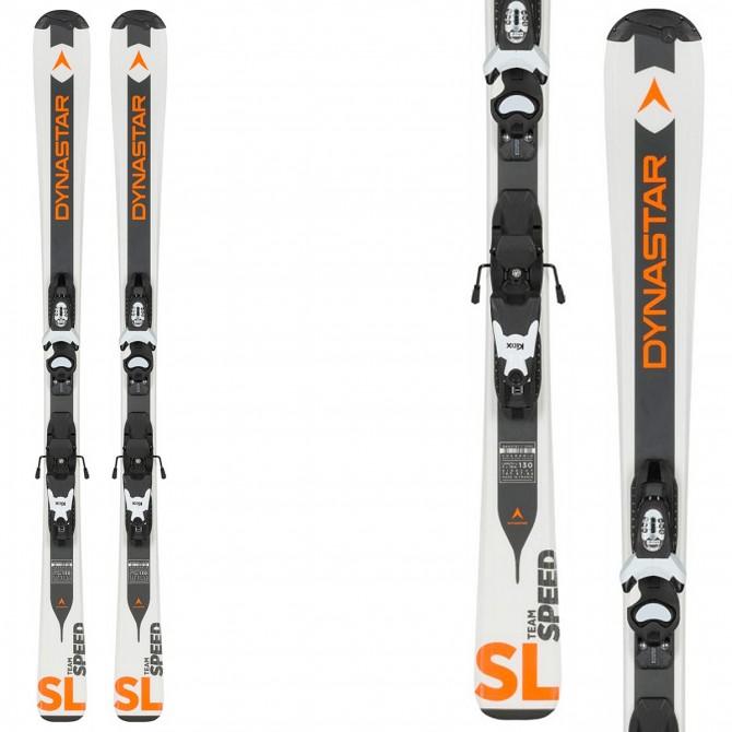 Ski Dynastar Team Speed (Kid-X) 100-130 + bindings Kid-X 4 B76