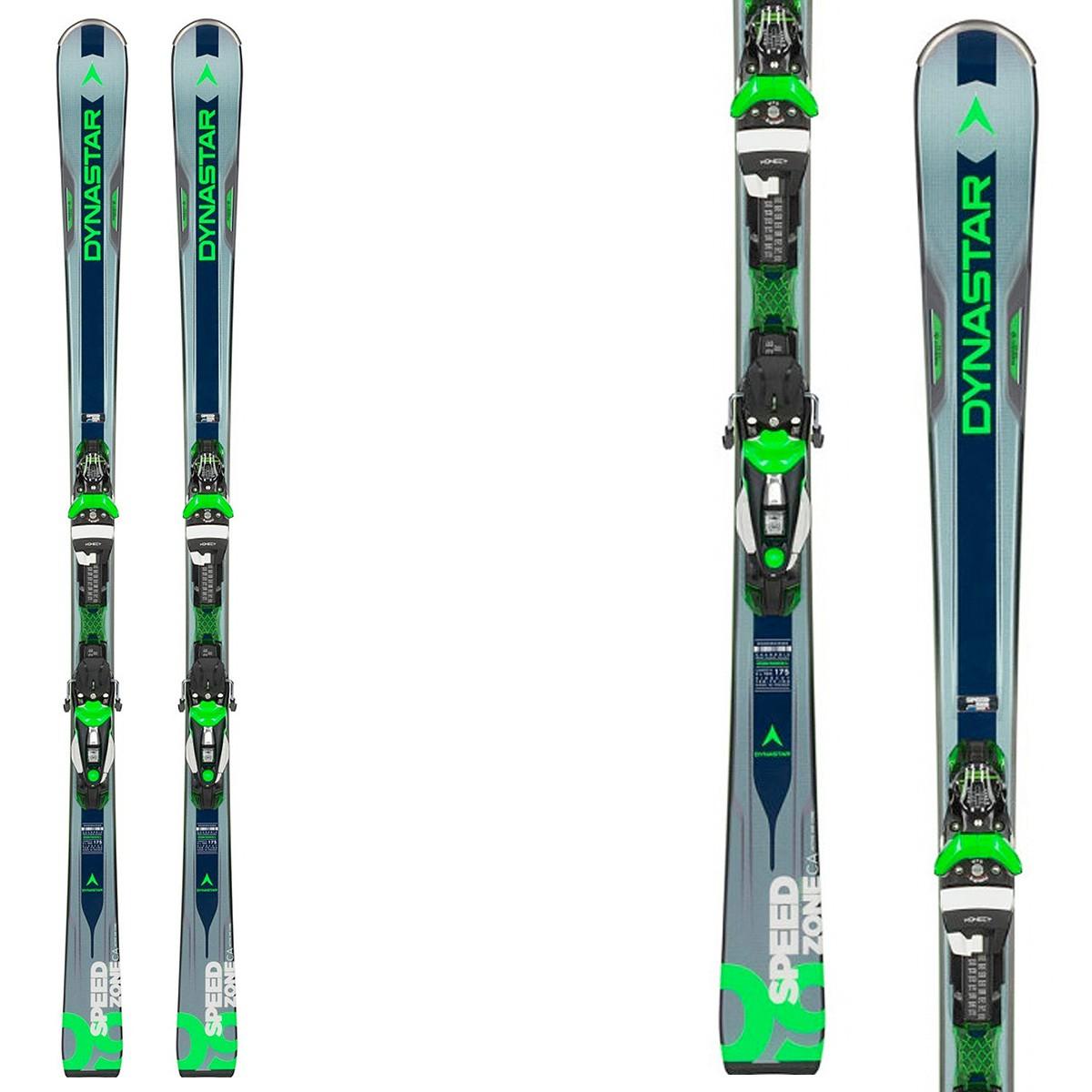 Sci Dynastar Speed Zone 9 Ca ( Konect ) + attacchi Nx 12 Konect Dual B80 (Colore: grigio-verde, Taglia: 153)