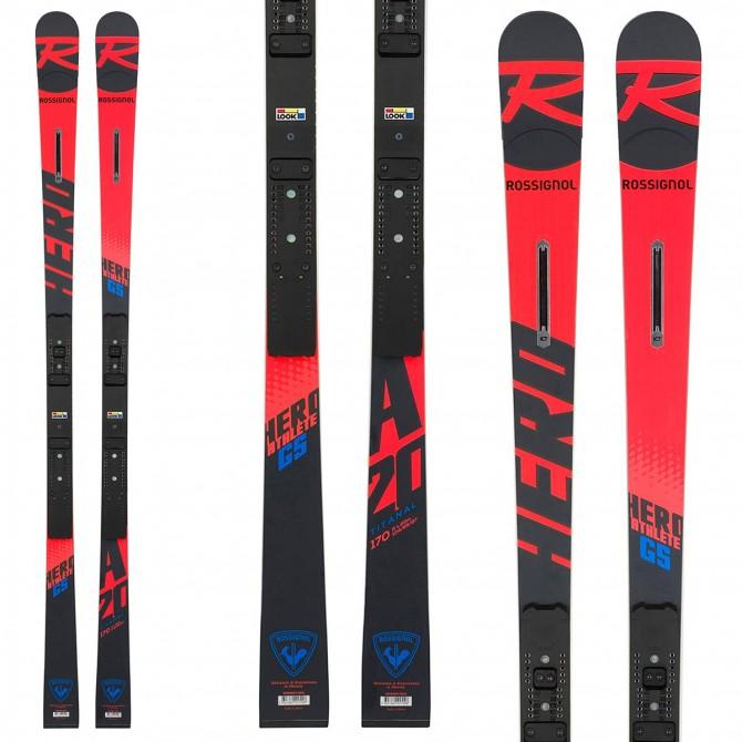 Ski Rossignol Hero Athlete GS (R22) + fixations Spx 12