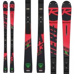 Ski Rossignol Hero Athlete Fis SL (R22) + fixations Spx 12 Rockerflex