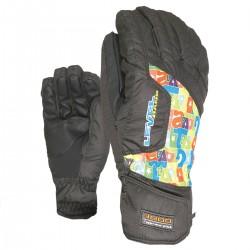 ski gloves Level Pk Rainbow Junior