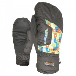 ski mittens Level Pk Rainbow Junior