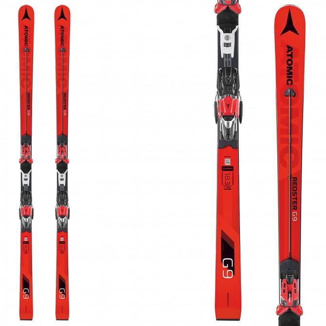 Esquí Atomic Redster G9 Fis W + fijaciones X16 Var