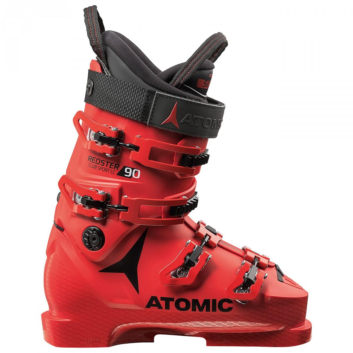 Scarponi sci Atomic Redster Club Sport 90 LC (Colore: rosso-nero, Taglia: 25/25.5)