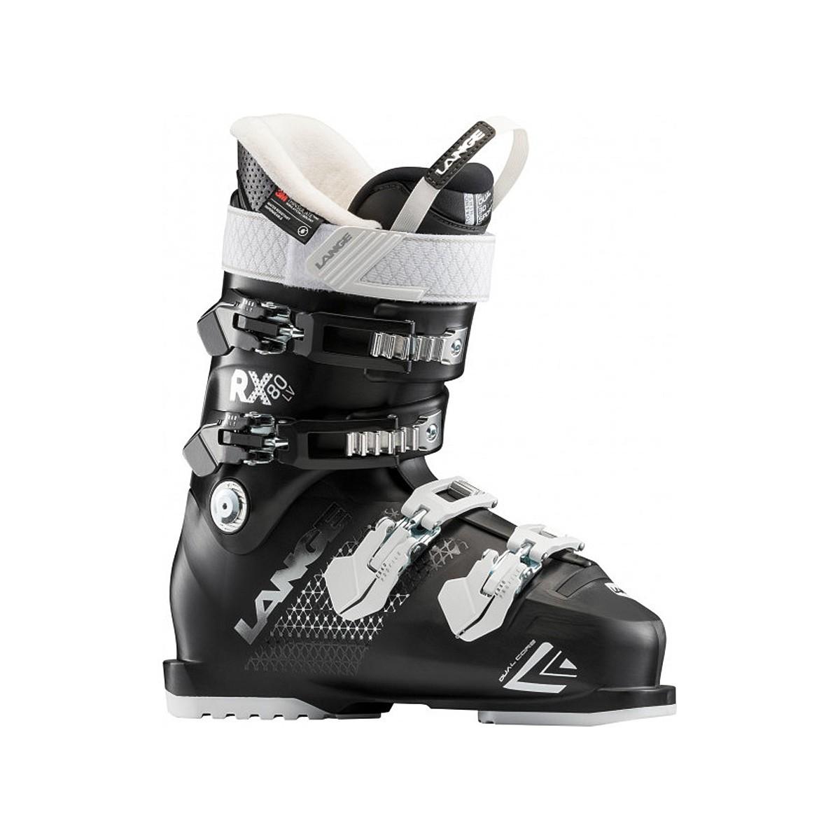 Scarponi sci Lange Rx 80 (Colore: nero-bianco, Taglia: 26.5)