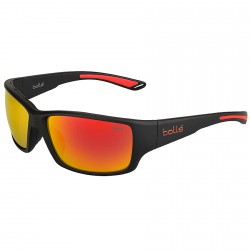 Gafas de sol Bollè Kayman negro-rojo