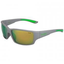 Occhiali da sole Bollè Kayman polarizzati grigio-verde