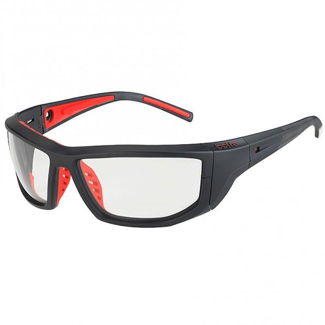 Occhiali da sole Bollè Playoff nero-rosso BOLLE' Occhiali ciclismo
