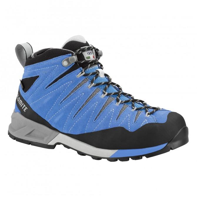 Trekking shoes Dolomite Crodarossa Mid Gtx Woman light blue