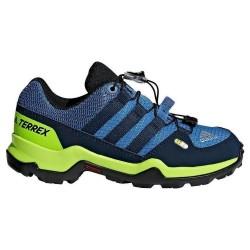 Hiking shoes Adidas Terrex Boy blue-yellow