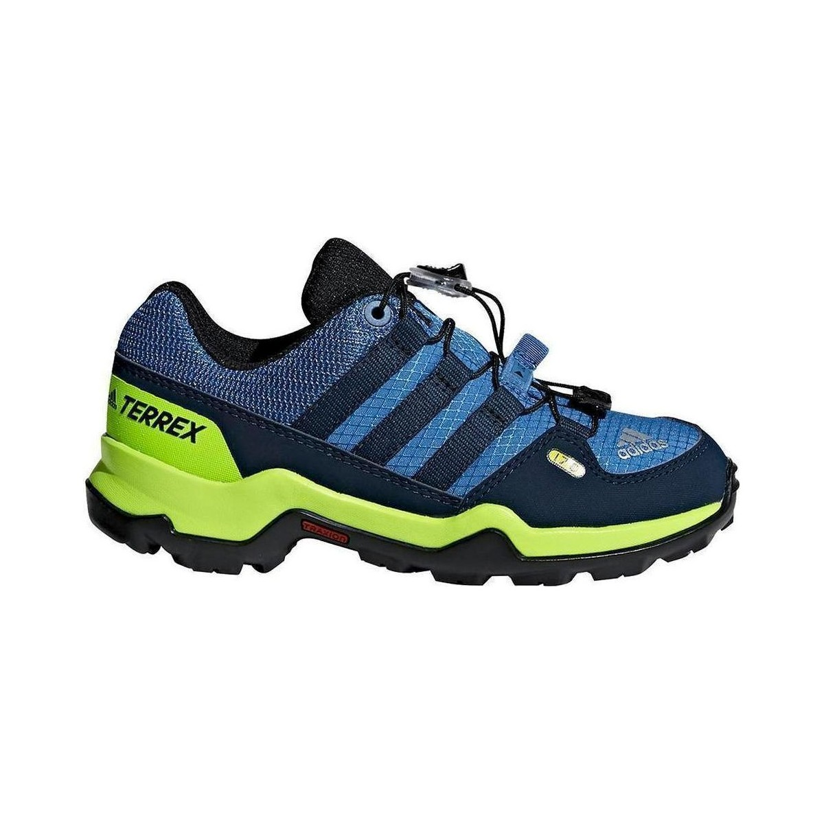 finest selection 469c2 9517e Pedule hiking Adidas Terrex Gtx Bambino blu-giallo