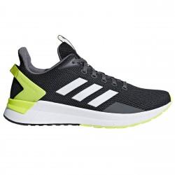 Chaussures running Adidas Questar Ride Homme gris-jaune