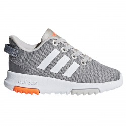 Chaussures running Adidas Racer TR Garçon gris