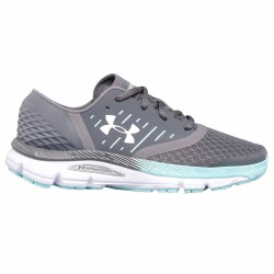 Chaussures running Under Armour UA SpeedForm Intake 2 Femme gris-vert