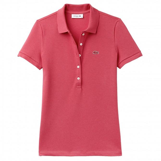 a78e06ef38 Polo Lacoste Slim Fit Femme - Vêtements casual