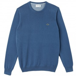 Pull Lacoste col rond Homme