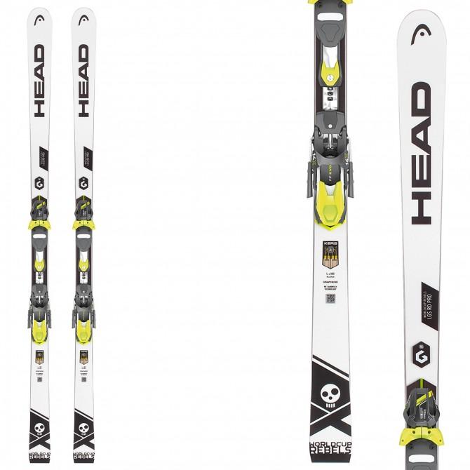 Esquí Head WC Rebels i.GS RD + fijaciones Freeflex Evo 16 Brake 85
