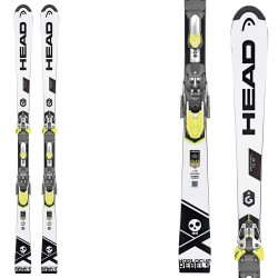 Ski Head WC Rebels i.SL RD SW + fixations Freeflex Evo 16 Brake 85