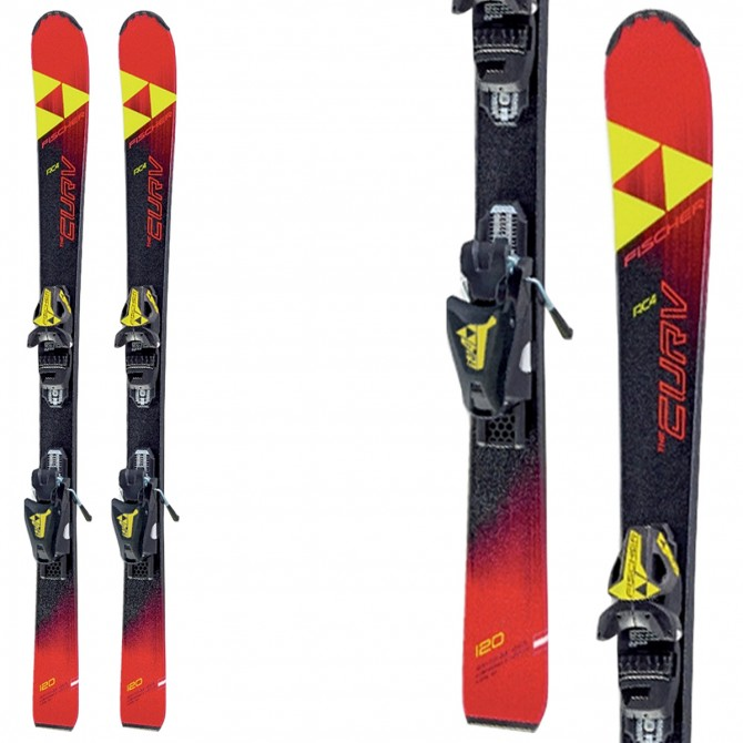 Ski Fischer The Curv Jr Slr + fixations FJ4 Ac Rail