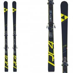 Ski Fischer RC4 WC GS JR Curv Booster + fixations Z17
