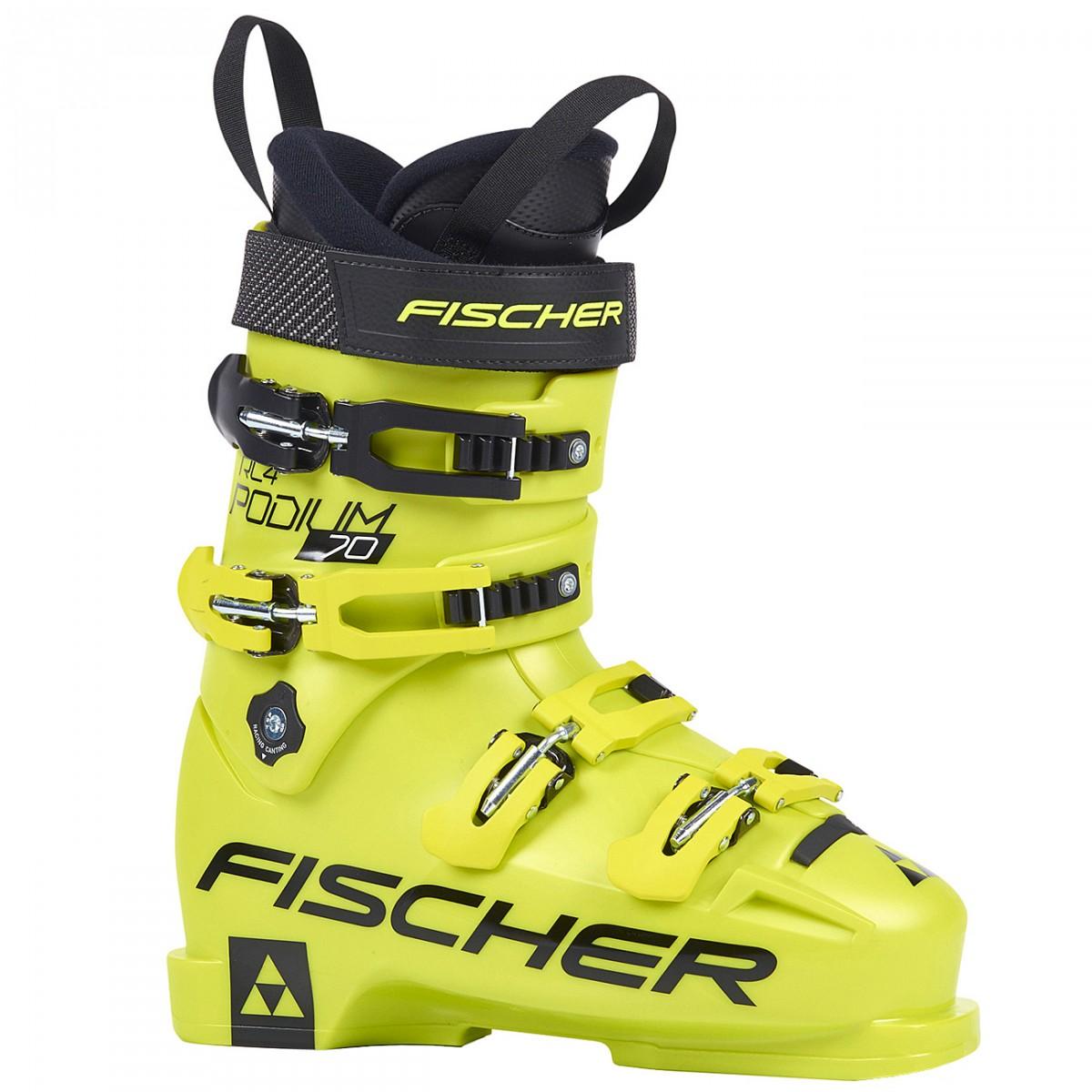 Scarponi sci Fischer RC4 Podium 70 (Colore: giallo, Taglia: 25.5)