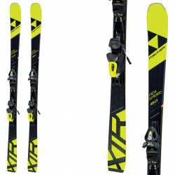 Ski Fischer Xtr Rc4 Speed Rt + fixations RS10 Pr