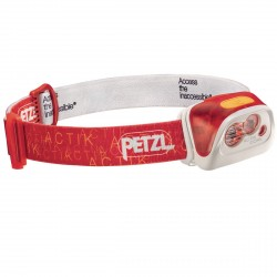 Lampe frontale Petzl Actik Core rouge