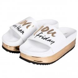 Sandalia The White Brand High Friday Mujer