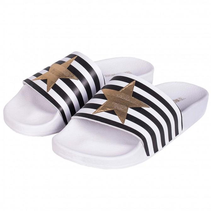 Sandalia The White Brand Star with Stripes Mujer