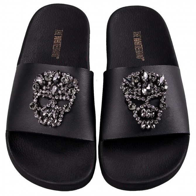 09967ff79a341 Platform The White Brand Skull Brillant Woman - Casual shoes
