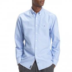 Camicia Tommy Hilfiger Oxford Uomo azzurro