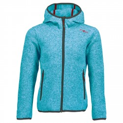 Hooded fleece Cmp Girl light blue