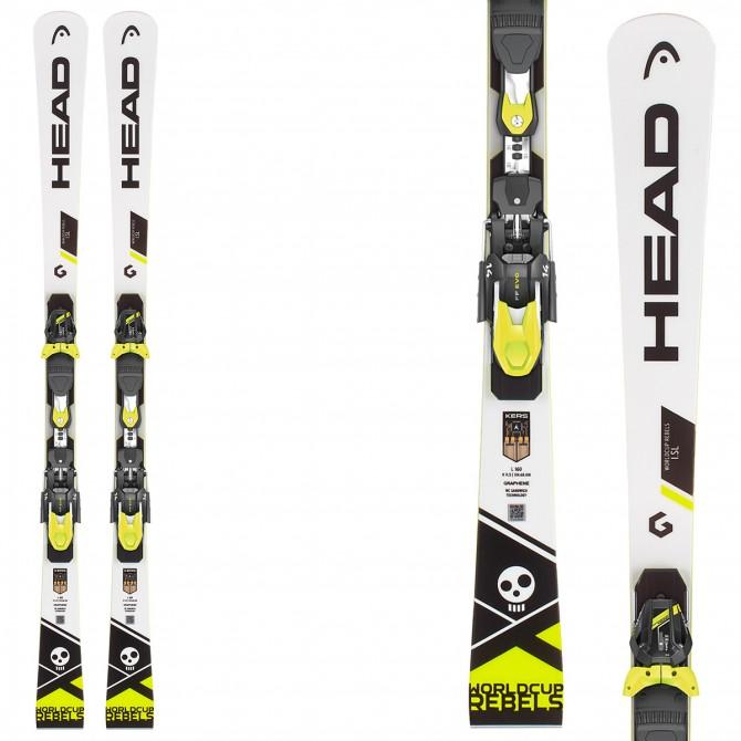 Ski Head WC Rebels i.SL Rp Evo 14 + fixations Freeflex Evo 14 Brake 85
