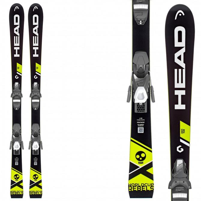 Ski Head WC iRace Team Slr 2 + fixations Slr 7.5 Ac Brake 78