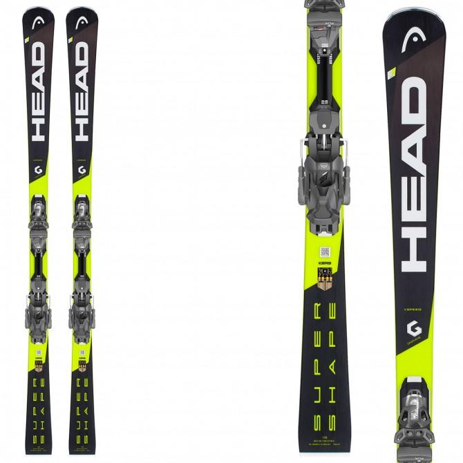 Ski Head Supershape iSpeed + bindings Prd 12 Gw Brake 85