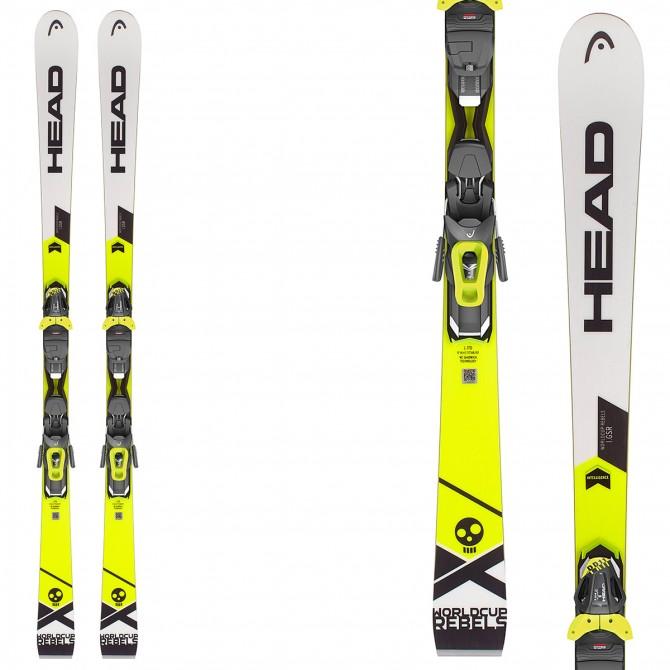 Ski Head WC Rebels i.GSR + bindings Pr 11 Brake 78