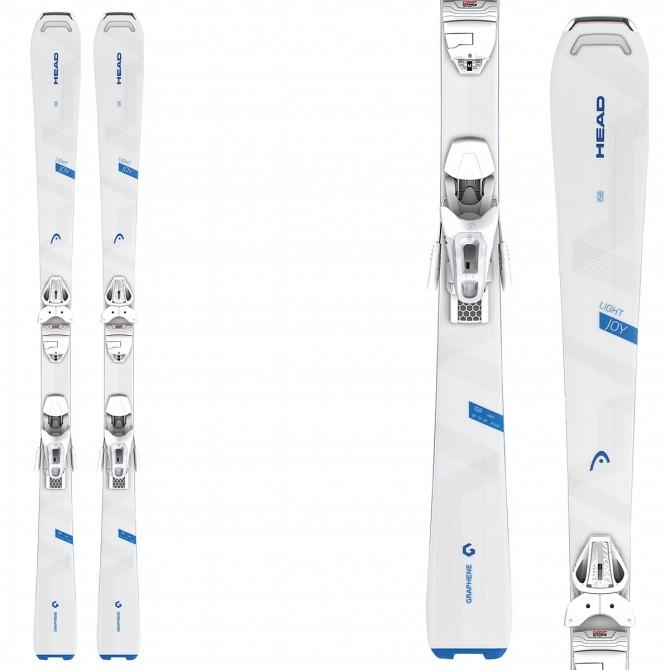 Ski Head Light Joy R SLR 2 + fixations Slr 9.0 ac Brake 85